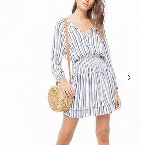 Striped dress size medium! Really cute